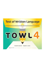 Test of Written Language (TOWL-4) Student Response Booklet Form A, Package of 25