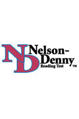 Nelson-Denny Reading Test Machine-Scorable Answer Sheet, Package of 250