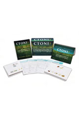 Comprehensive Test of Nonverbal Intelligence (CTONI-2) Kit