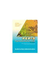 Psychoeducational Profile (PEP-3) Exam Scoring and Summary Booklets Package of 10