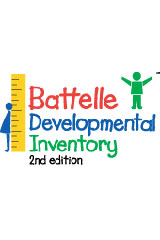 Battelle Developmental Inventory (BDI-2) Complete eKit with Manipulatives