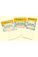 Test of Nonverbal Intelligence (TONI-4) Form A Answer Booklets and Record Forms, Package of 50