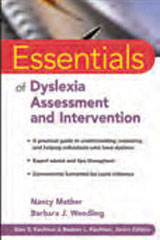 Cognitive/Memory Assessment Resources  Essentials of Dyslexia Assessment and Intervention (Paperback)-1514112