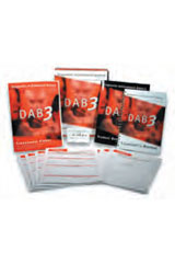 Diagnostic Achievement Battery (DAB-3) Student Response Booklet, Package of 25