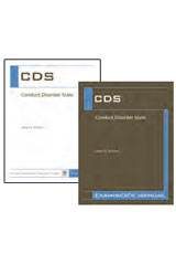 Conduct Disorder Scale (CDS)  Complete Kit-1518470