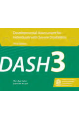 Developmental Assessment for Individuals with Severe Disabilities (DASH-3) Complete Kit