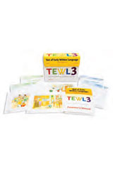 Test of Early Written Language (TEWL-3)  Student Workbook Form A, Package of 10-1518541