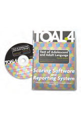 Test of Adolescent and Adult Language (TOAL-4) Print and Software Combo Kit