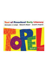 Test of Preschool Early Literacy (TOPEL) Complete Kit