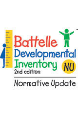 Battelle Developmental Inventory Normative  Update  Student Workbook Package of 15-1655605