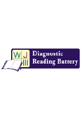 Woodcock-Johnson III Diagnostic Reading Battery (WJ III DRB) Test Records and Response Booklets, Package of 25