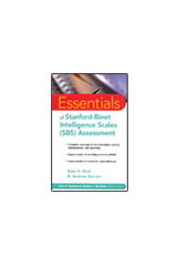 Stanford-Binet Intelligence Scales (SB5)  Essentials of Stanford-Binet Intelligence Scales Assessment-9780471224044