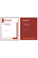 Comprehensive Trail-Making Test (CTMT) Examiner's Manual