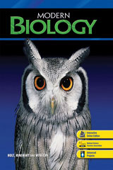Modern Biology  One-Stop Planner CD-ROM with Test Generator-9780030367281