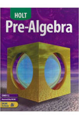 Holt Pre-Algebra  Online Edition (16-Month subscription)-9780030367397