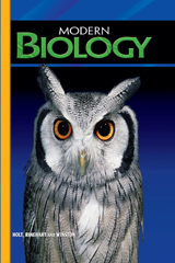 Modern Biology  Student Edition-9780030367694