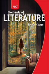 Holt Elements of Literature  Student Edition Grade 8 Second Course-9780030368776