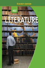 Holt Elements of Literature  Student Edition Grade 12 British Literature, Sixth Course-9780030368820