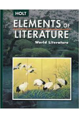 Elements of Literature  Student Edition World Literature-9780030377228