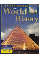 Holt World History: Human Journey-Modern World  Student Edition-9780030381416