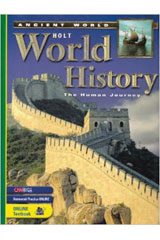 Holt World History: Human Journey-Ancient World  Premier Online Edition (1-year subscription)-9780030384042