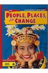 Holt People, Places, and Change: An Intro to World Studies: Western Hemishpere  Premier Online Edition (1-year subscription)-9780030384745
