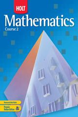 Holt mathematics course 2 homework help
