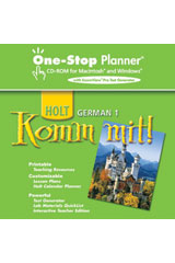 Komm mit!  One-Stop Planner with ExamView Level 1-9780030397677