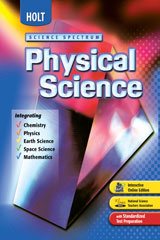 Holt Science Spectrum: Physical Science  Premier Online Edition (1-year subscription)-9780030400087