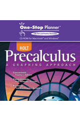 Holt Precalculus  One-Stop Planner CD-ROM-9780030423949