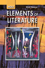 Elements of Literature  Student Edition Grade 7 First Course-9780030424120