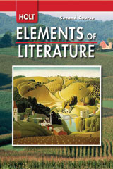 Elements of Literature  Student Edition Grade 8 Second Course-9780030424137
