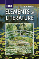 Elements of Literature  Student Edition Grade 9 Third Course-9780030424144