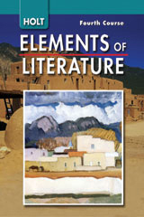 Elements of Literature  Student Edition Grade 10 Fourth Course-9780030424175