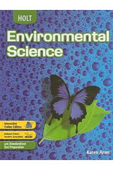 Holt Environmental Science  Chapter Resources CD-ROM-9780030425547
