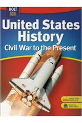 Holt Social Studies: United States History: Civil War to the Present Interactive Reader and Study Guide