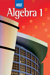 Holt Algebra 1  Resource Book with Answers: Chapter 11-9780030427688