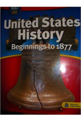 Holt Social Studies: United States History: Beginnings to 1877  Daily Bellringer Transparencies Beginnings to 1877-9780030428982