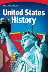 United States History: Beginnings to 1877  Differentiate Instruction Modified Worksheets & Tests CD w/Answer Key-9780030429125