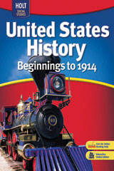 United States History: Beginnings to 1914  Premier Online Edition (1-year subscription)-9780030431647