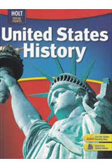 Holt Social Studies: United States History  Map Transparencies-9780030435843