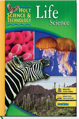 Holt Science & Technology  Student Edition Life Science-9780030462245