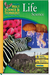 Holt Science & Technology  Reading and Comprehension Guide Life Science-9780030462375