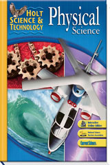 Holt Science & Technology  Premier Online Student Edition (6-year subscription) Physical Science-9780030462498