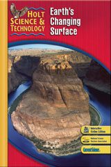 Holt Science & Technology 1 Year Subscription Premier Online Student Edition (G) Earth's Changing Surface-9780030482182