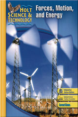 Holt Science & Technology  Premier Online Student Edition (6-year subscription) (M) Forces, Motion, and Energy-9780030493348