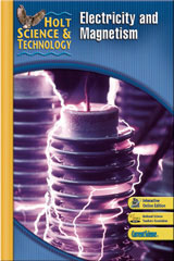 Holt Science & Technology 6 Year Subscription Premier Online Student Edition (N) Electricity and Magnetism-9780030493645