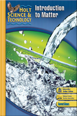 Holt Science & Technology  Student Edition K: Introduction to Matter-9780030500923