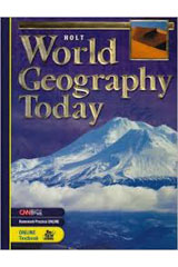 World Geography Today  Student Edition-9780030509681