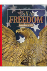 Holt Call to Freedom  American History Outline Maps with Teacher Suggestions-9780030536649